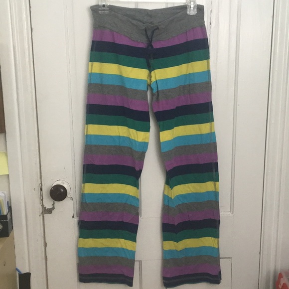 Striped pijama pants